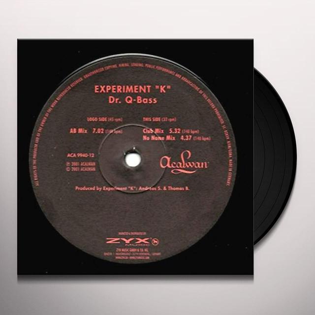 Experiment K. DR. Q-BASS Vinyl Record