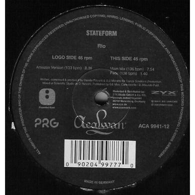 Stateform RIO Vinyl Record