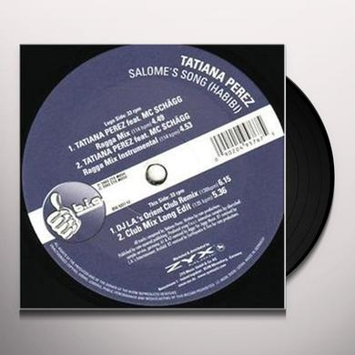 Tatiana Perez SALOMES SONG (HABIBI) Vinyl Record