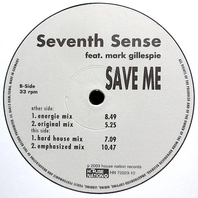 Seventh Sense SAVE ME Vinyl Record