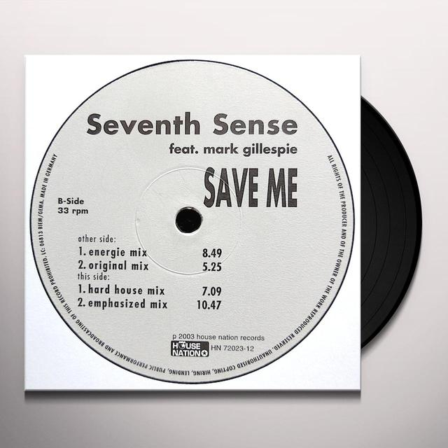 Seventh Sense SAVE ME Vinyl Record