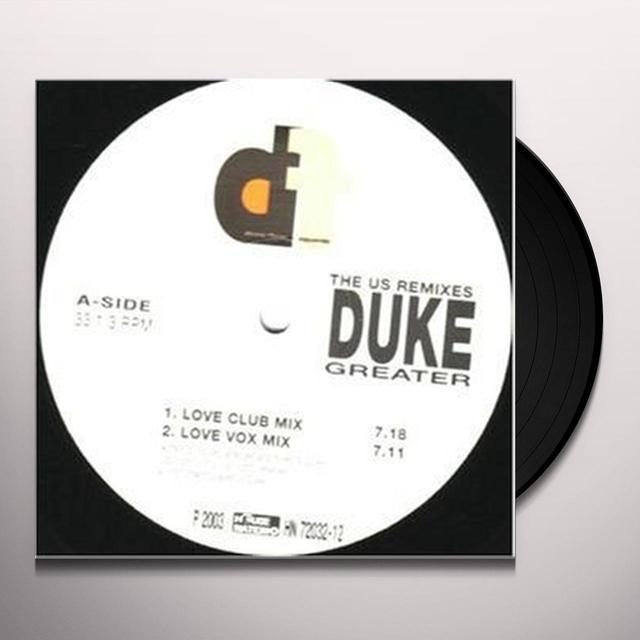 Duke GREATER Vinyl Record
