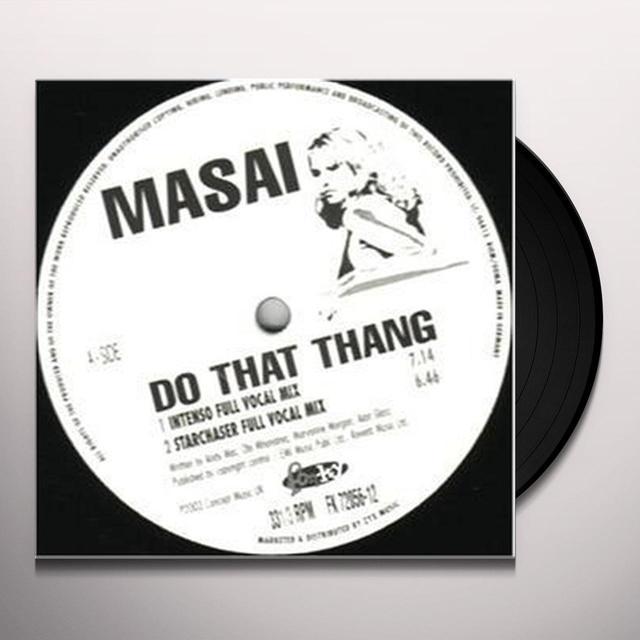 Masai DO THAT THANG Vinyl Record