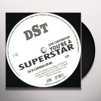 Love Cooperation YOURE A SUPERSTAR Vinyl Record
