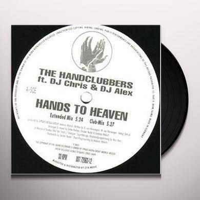 Handclubbers HANDS TO HEAVEN Vinyl Record