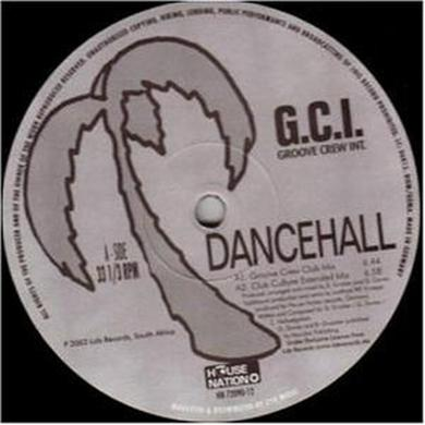 Dancehall GCU GROOVE CREW INTERNATIONAL Vinyl Record