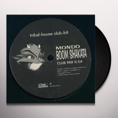 Mondo BOOM SHAKATA Vinyl Record