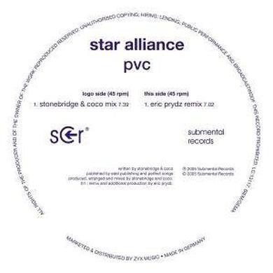 Star Alliance PVC Vinyl Record