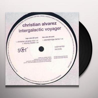 Christian Alvarez INTERGALACTIC VOYAGER Vinyl Record