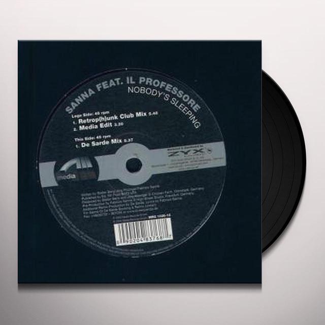 Sanna NOBODYS SLEEPING Vinyl Record