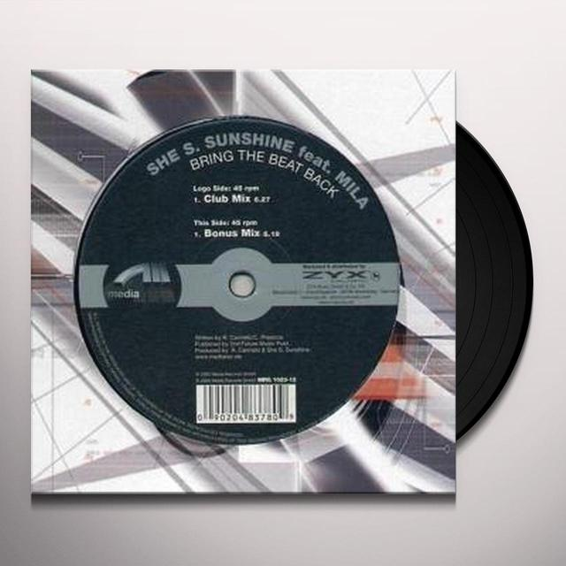 She S. Sunshine BRING THE BEAT BACK Vinyl Record