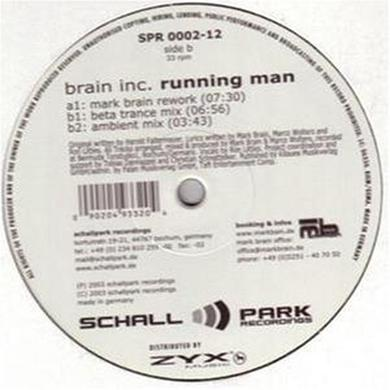 Brain Inc. RUNNING MAN Vinyl Record