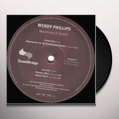 Wendy Phillips WHATEVER IT TAKES Vinyl Record