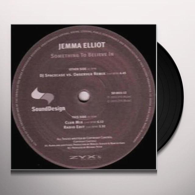 Jemma Elliot SOMETHING TO BELIEVE IN Vinyl Record