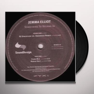 Jemma Elliot SOMETHING TO BELIEVE IN Vinyl Record