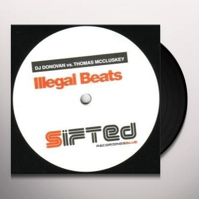 Dj Donovan/Mc Cluskey ILLEGAL BEATS Vinyl Record