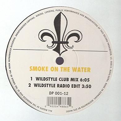 Ccct SMOKE ON THE WATER Vinyl Record