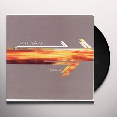 John De Ago SUBINA Vinyl Record