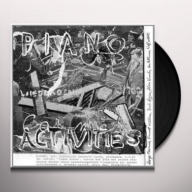 Philip Corner PIANO ACTIVITIES Vinyl Record