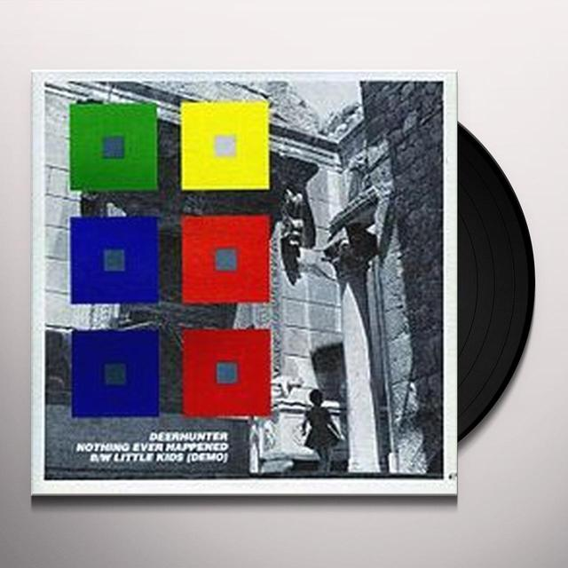 Deerhunter NOTHING EVER HAPPENED Vinyl Record