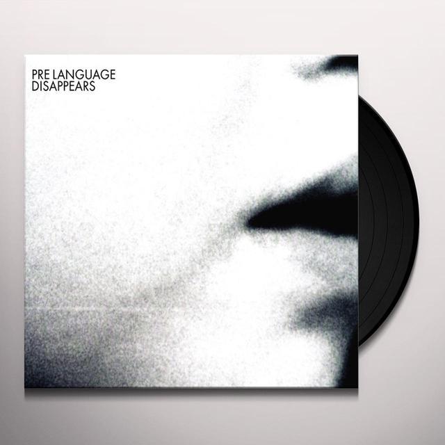 Disappears PRE LANGUAGE (Vinyl)