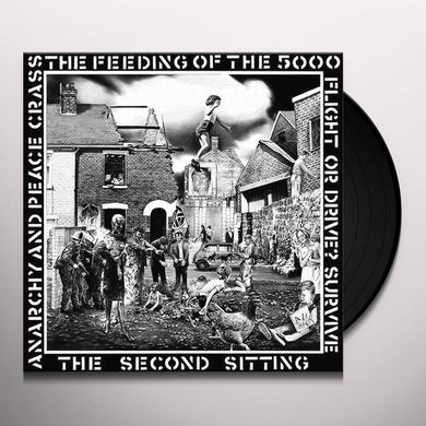 Crass FEEDING OF THE 5000 Vinyl Record