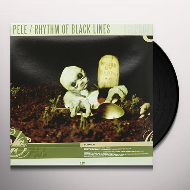 Pele/Rhythm Of Black Lines SPLIT Vinyl Record