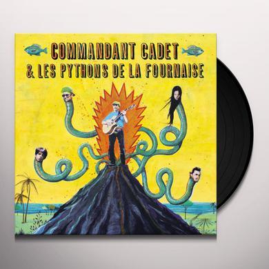 Commandant Cadet & Les Pythons De La Fournaise PREMIAC VIRAZ Vinyl Record