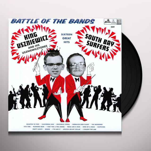 King Uszniewicz & The Uszniewicztones BATTLE OF THE BANDS Vinyl Record