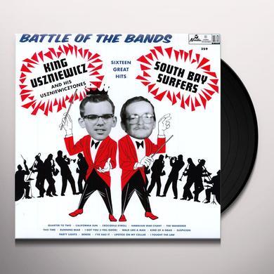 King Uszniewicz & The Uszniewicztones BATTLE OF THE BANDS Vinyl Record