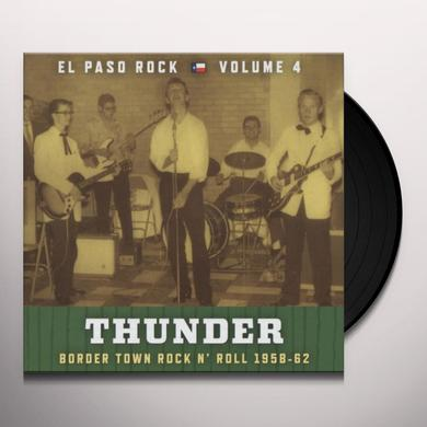 THUNDER: EL PASO ROCK 4 / VARIOUS Vinyl Record