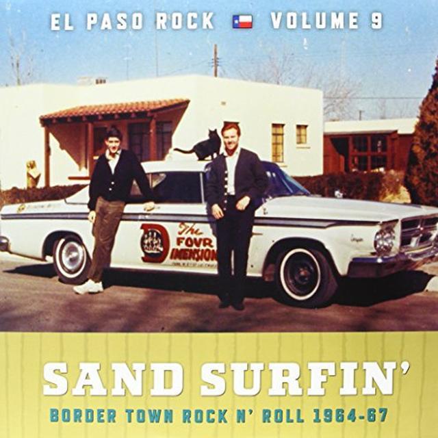SAND SURFIN: EL PASO ROCK 9 / VARIOUS Vinyl Record