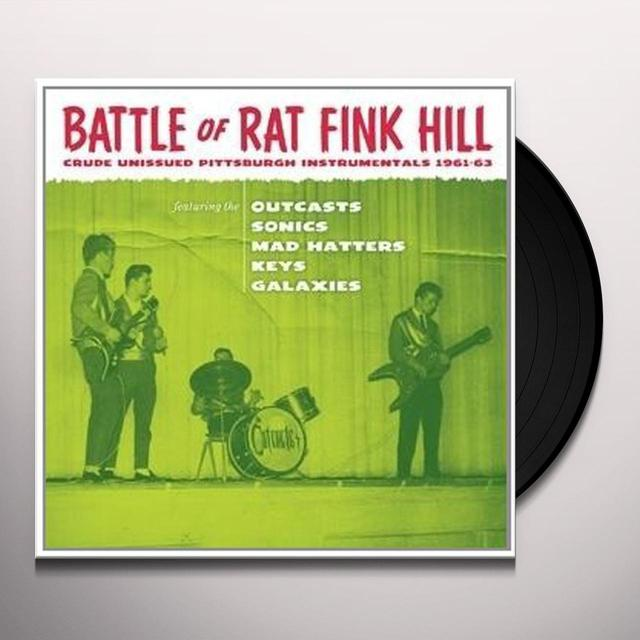 BATTLE OF RAT FINK HILL / VARIOUS Vinyl Record