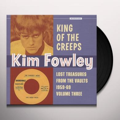 KING OF THE CREEPS: LOST TREASURES FROM THE VAULTS Vinyl Record