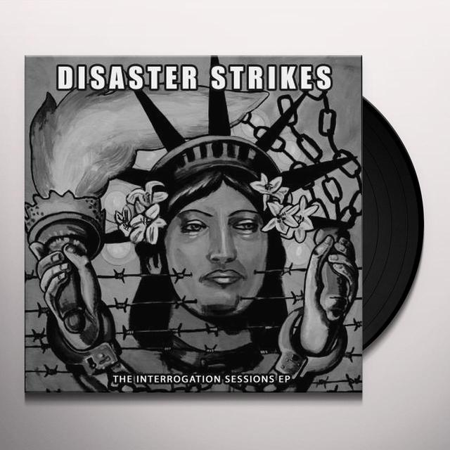 Disaster Strikes INTERROGATION SESSIONS Vinyl Record