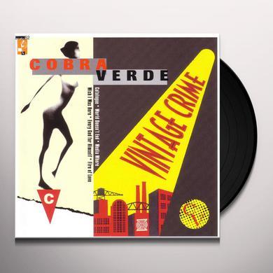 Cobra Verde VINTAGE CRIME Vinyl Record