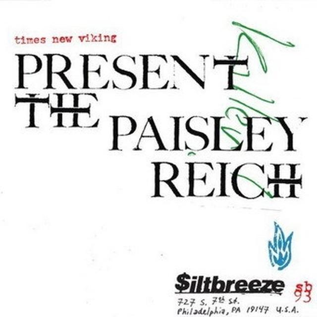 Times New Viking PAISLEY REICH Vinyl Record