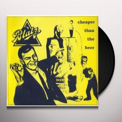Blatz CHEAPER THAN THE BEER Vinyl Record