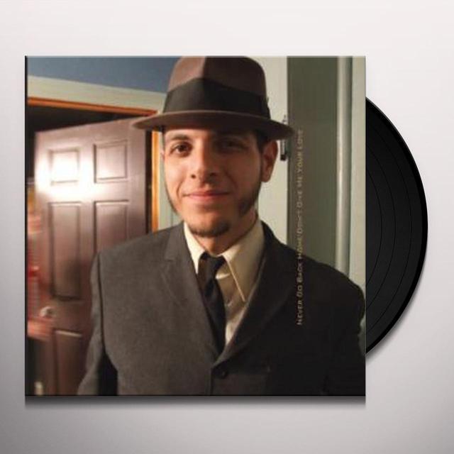 Vic Ruggiero NEVER GO BACK HOME Vinyl Record