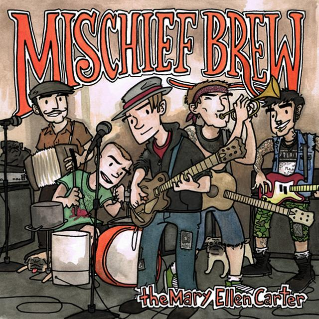 Mischief Brew & Franz Nicolay UNDER THE TABLE Vinyl Record