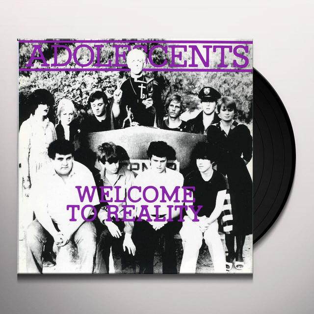 Adolescents WELCOME TO REALITY Vinyl Record