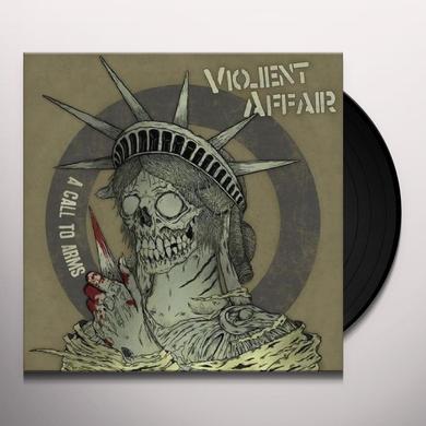 Violent Affair CALL TO ARMS Vinyl Record