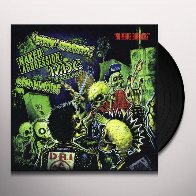 Mcd/Naked Aggression/Som-Hi-Noise/Raw Power NO MORE BORDERS Vinyl Record