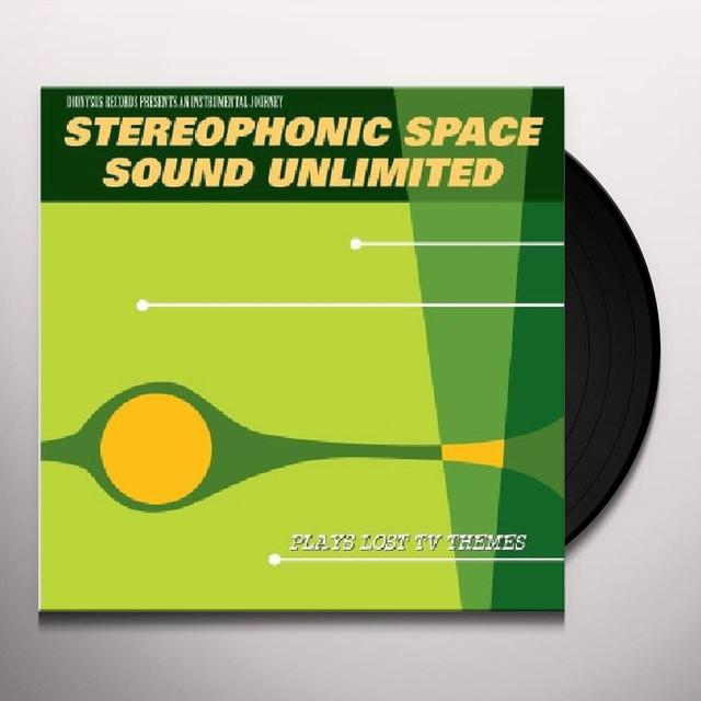 Stereophonic Space Sound Unlimited PLAYS LOST TV THEMES Vinyl Record