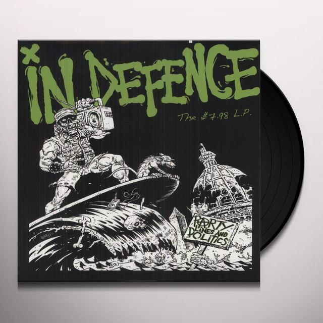 In Defence PARTY LINES & POLITICS (Vinyl)