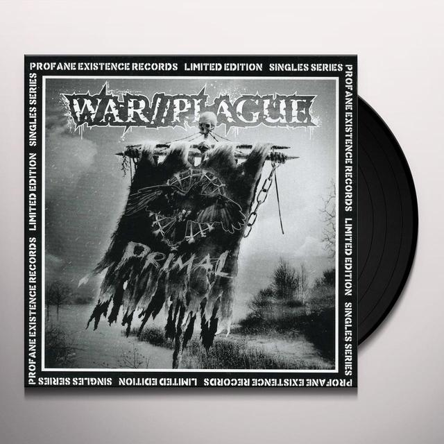 War/Plague PRIMAL Vinyl Record