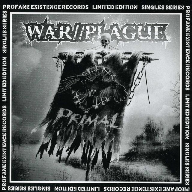 War/Plague PRIMAL Vinyl Record