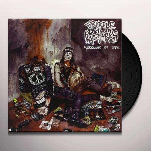 Cripple Bastards FRAMMENIT DI VITA Vinyl Record