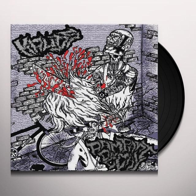 Rampant Decay/Kruds SPLIT Vinyl Record