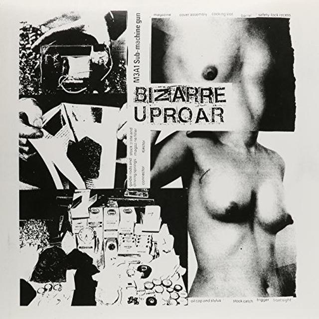 Man Is The Bastard/Bizarre Uproar SPLIT Vinyl Record